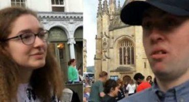 Chica de 15 años y su madre enfrentan a neonazis en Reino Unido
