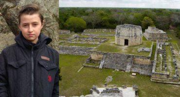 Canadiense de 15 años descubre ciudad maya que llevaba siglos oculta