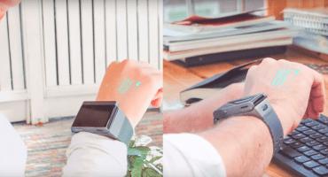 Con ustedes: El Smart Watch con proyector incluido