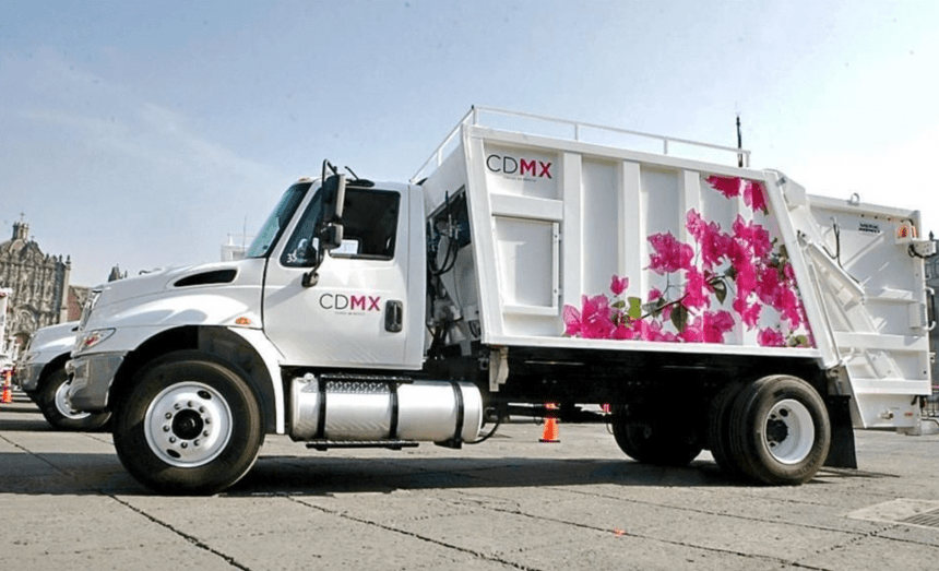 Gobierno de la CDMX compra camiones de basura a sobreprecio