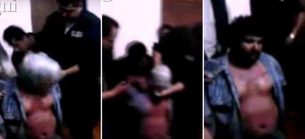 Un video muestra como torturan a un detenido en la Procuraduría del EdoMex