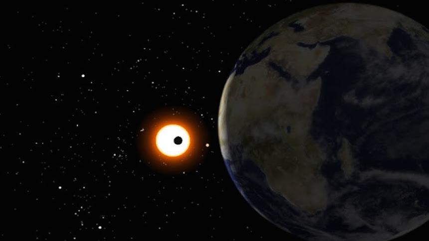 ¡Sigue en vivo el tránsito del planeta Mercurio!