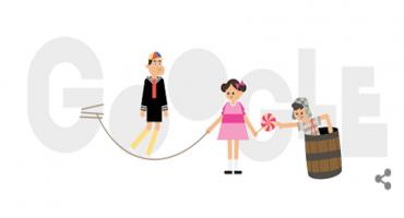 Google dedica su doodle al aniversario del Chavo del Ocho