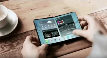 Podríamos tener smartphones con pantallas plegables en 2017