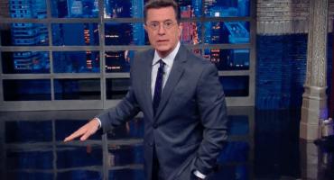 Stephen Colbert aprueba el orinarse en la ducha