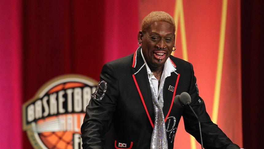 Dennis Rodman le recuerda a los Warriors quién es el mejor