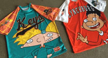 ¿Los mejores uniformes profesionales de baseball? ¡Los de Hey Arnold!