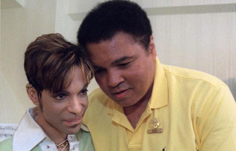 El día que Prince y Muhammad Ali se conocieron