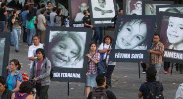 Realizan marcha para conmemorar 7 años del incendio en la Guardería ABC