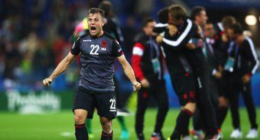 Albania hace historia y derrota a Rumania
