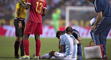 Baja sensible en Argentina, Ángel Di María estará dos semanas fuera