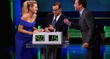 Blake Lively demuestra sus conocimientos de español con Jimmy Fallon