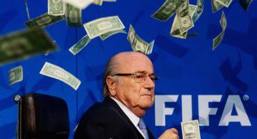 Blatter, Valcke y Kattner se volaron 80 millones de dólares de la FIFA durante cinco años