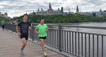 ¡Llamen a sus mamás! EPN y Justin Trudeau, corriendo juntos