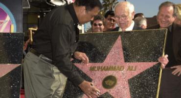 La estrella de Muhammad Ali en Hollywood no está en el suelo y este es el porqué