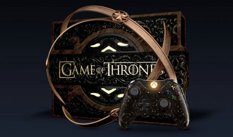 Babea con este extravagante Xbox One edición especial de Game of Thrones