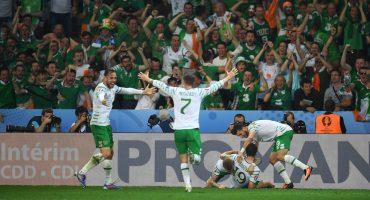 Irlanda vence a Italia y se mete a Octavos de Final