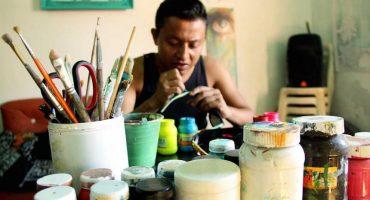 Grafitero de origen zapoteca, invitado a pintar murales en Dubai