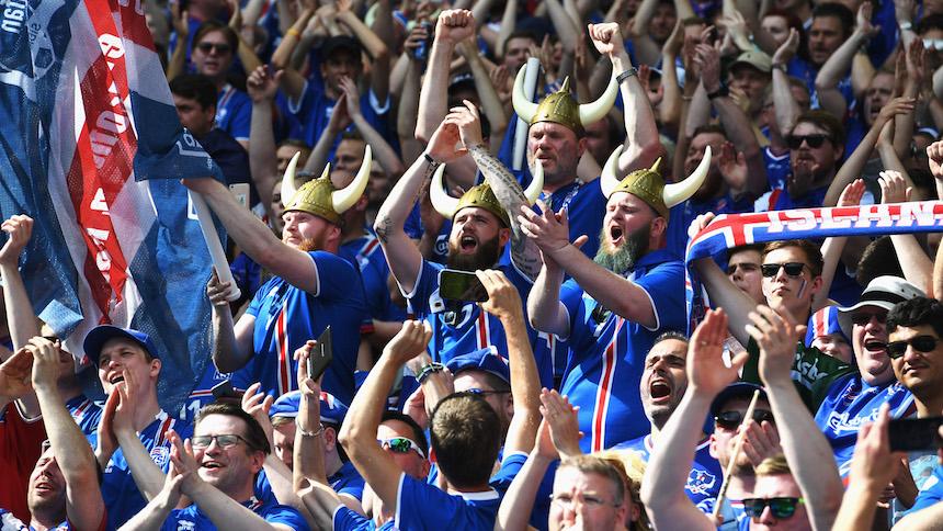 Islandia aficionados euro 2016