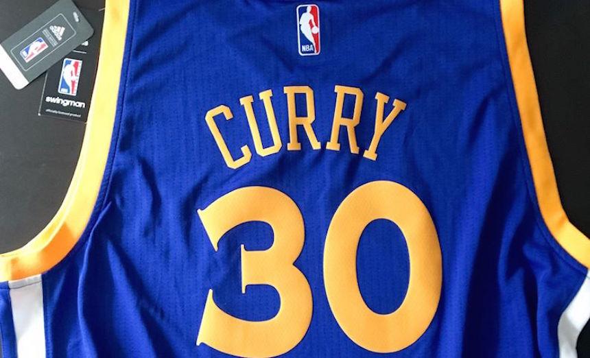 Este es el dibujo ganador del jersey de Stephen Curry