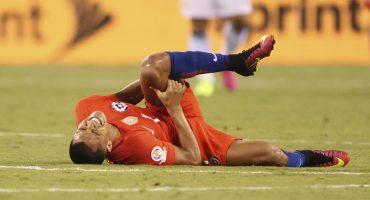 La impresionante lesión de Alexis Sánchez tras la Copa América Centenario