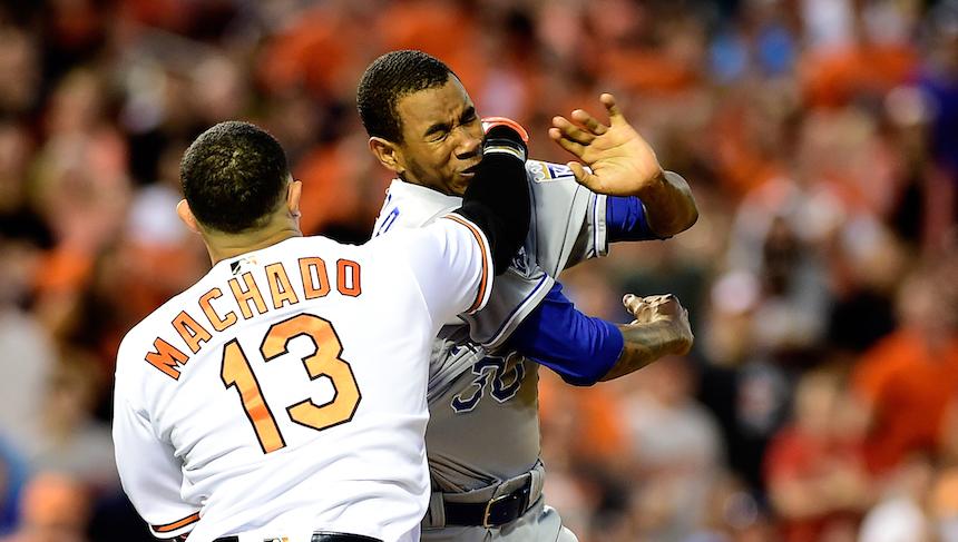 Video: El tiro entre Manny Machado y Yordano Ventura
