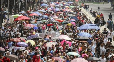 Marchas, marchas y más marchas para comenzar la semana en la CDMX