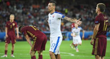 Eslovaquia vence a Rusia con golazo de Hamsik incluido