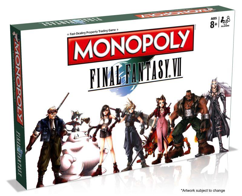 El próximo año tendremos un Monopoly edición Final Fantasy VII