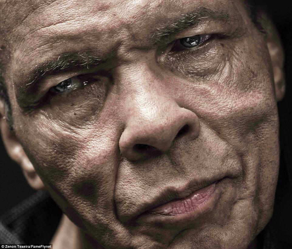 Y en la imagen del día... el último retrato de Muhammad Ali