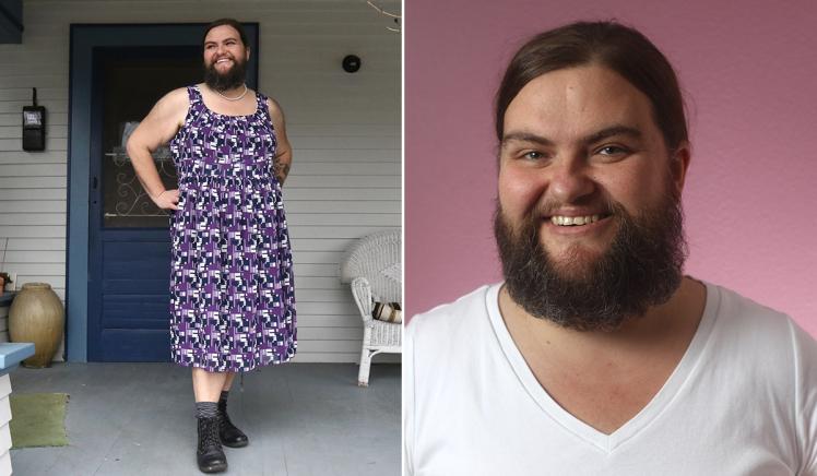 Mujer se deja crecer la barba y asegura que nunca se sintió más sexy