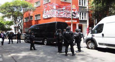Comienza la demolición del predio de la Asamblea de Barrios en la Condesa
