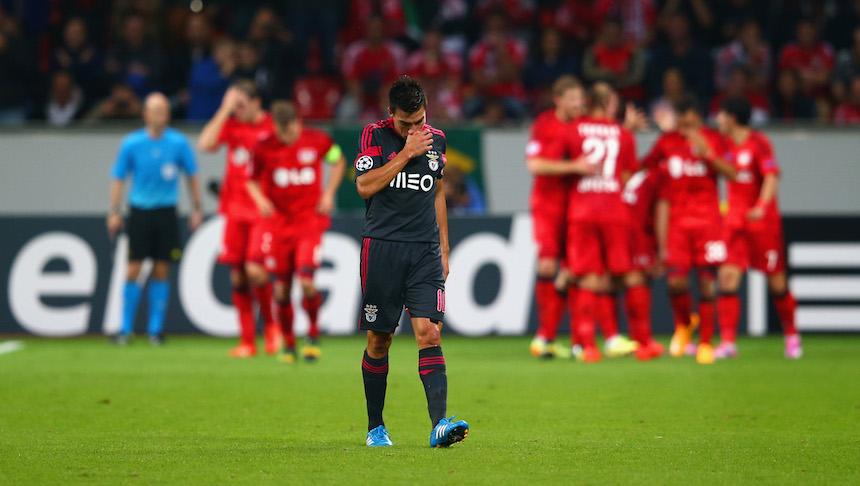 Con gran emotividad, Gaitán se despidió del Benfica