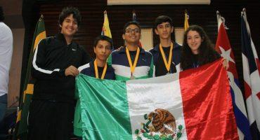 México gana el primer lugar en olimpiadas de matemáticas