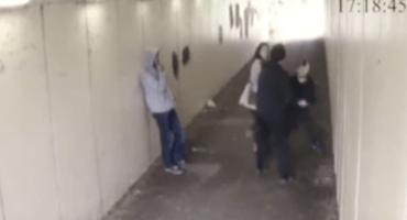 Video: Dos sujetos molestan a la novia de un tipo y esto les sucedió