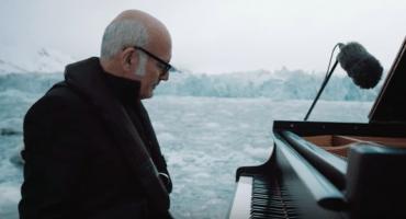 El pianista que tocó en el Océano Ártico