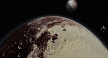 Este increíble video te permite visitar Plutón en realidad virtual