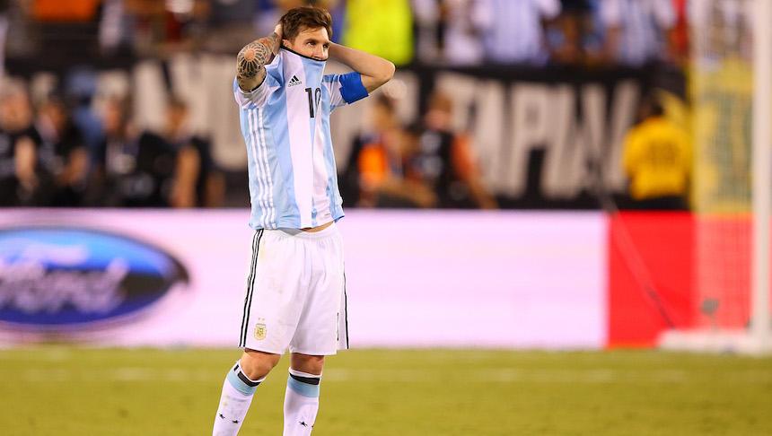 Deportistas envían mensajes de apoyo a Messi tras su retiro de la selección