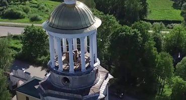 EpicFail: Drone capta a cachondos teniendo sexo en la torre de una iglesia