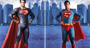 El antes y el ahora: 15 imágenes de superhéroes a través del tiempo