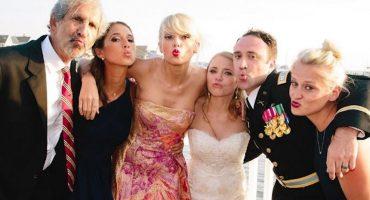 Taylor Swift crashea la boda de un fan en Nueva Jersey