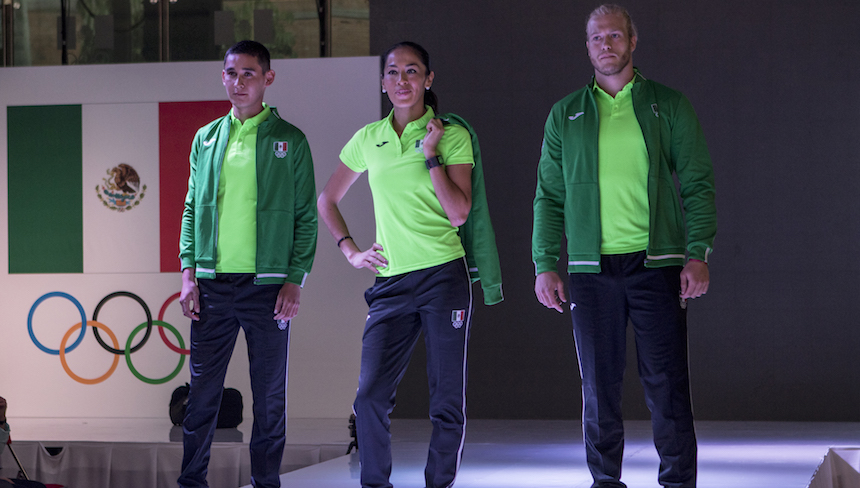La delegación mexicana presentó sus uniformes para Río 2016