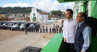 Manuel Velasco advierte castigo por muertes en San Juan Chamula