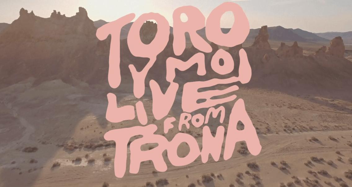 Toro Y Moi anuncia nuevo álbum en vivo 'Live From Trona'