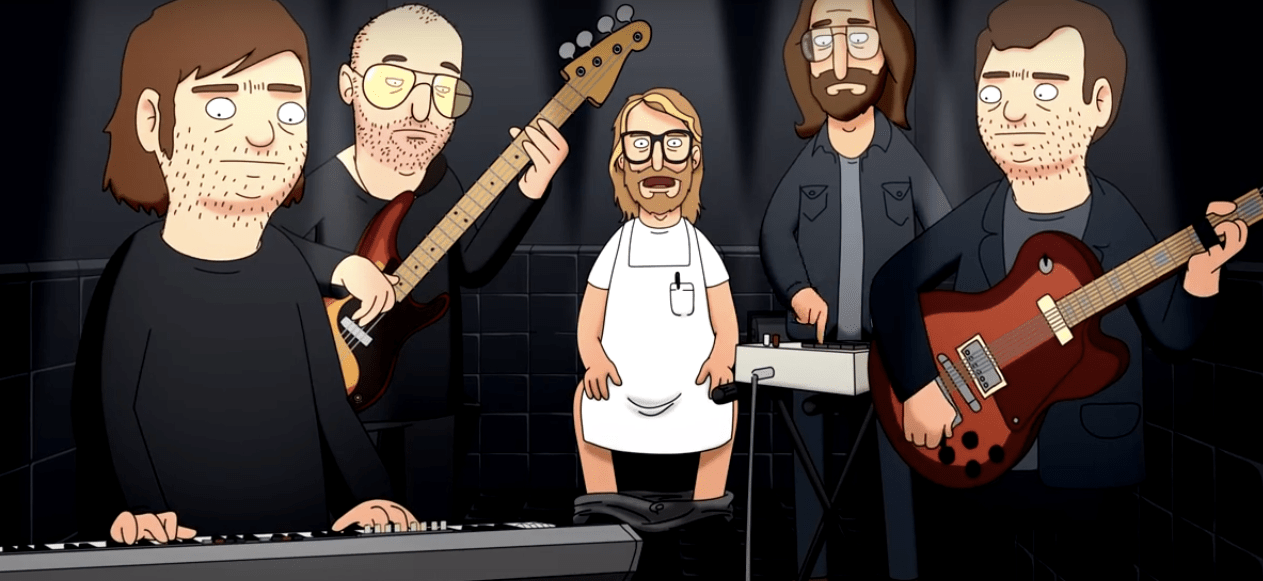 Chequen el video de The National como personajes de 'Bob's Burguers'