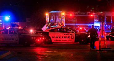 5 oficiales muertos en Dallas durante protesta por brutalidad policiaca