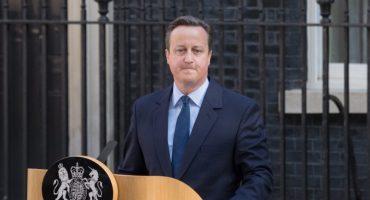 David Cameron hizo oficial su renuncia como primer ministro de Reino Unido
