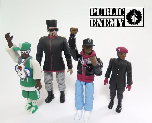 ¡Convierten a Public Enemy en figuras de acción!