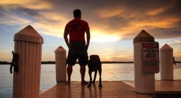 Conoce a Robert Kugler y su perro con cáncer que viajan por Estados Unidos