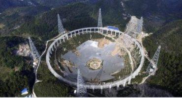 China busca extraterrestres con un supertelescopio